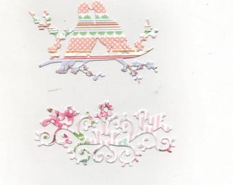 Set of ornaments for your cards or scrapbooking No. 146