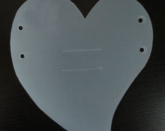CREApop - piece heart hanging bracket - REF. 3901 400
