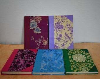 Handmade Brocade Fabric Lokta Journal Made In Nepal