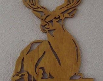 The deer's Christmas