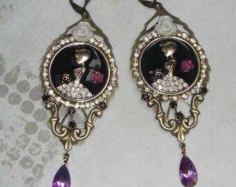 Pretty Princess Baroque earrings