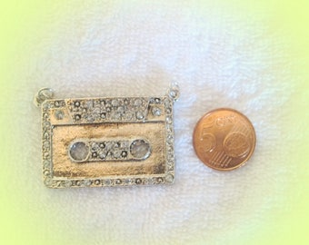 cassette tape charms