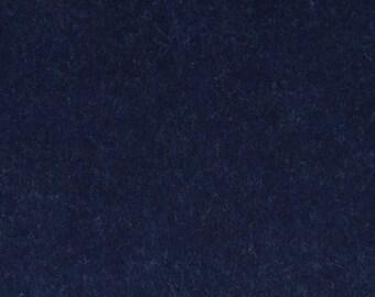 Navy wool felt cut 2 mm - 30 x 30 cm - Ref FE3908