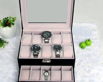 1 box of 20 Rectangle watch display