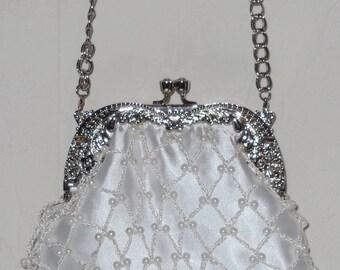 Shoulder bag, pouch beads