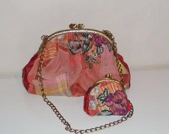 shoulder bag and purse (patchwork)