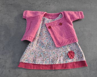 Dress and jacket girls size 3 months