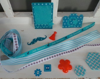 TEXTILES FOR SCRAPBOOKING EMBELLISHMENTS KIT