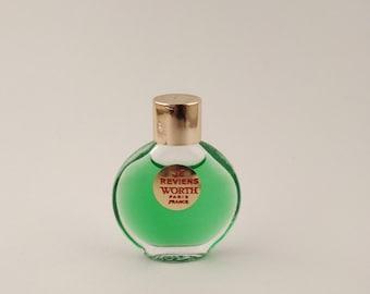 Vintage Mini Perfume Worth Je Reviens 0.07 oz 2 ml Parfum