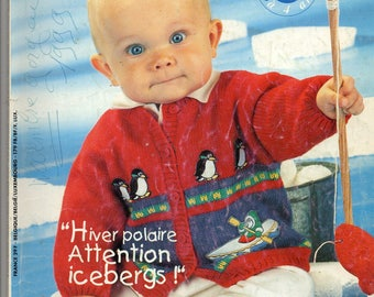 Phildar knitting catalog special baby from newborn to 4t 34