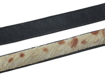 Approximately 1 m animal skin - SC61597 11mm leather cord-