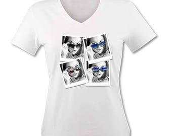 """T-shirt woman """"Travel Photos"""""""