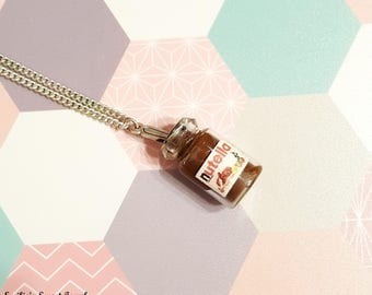 Jar of nutella necklace