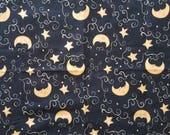 Celestial Moon Night Fabric