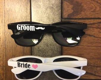 Personalized Sunglasses Bachelorette Gifts Wedding Favors Bridal Custom