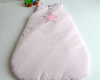 Sleeping bag 0-6 months handmade @lacouturebytitia pink stars