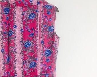 Coral of Rose : Vintage Dress / summer dress
