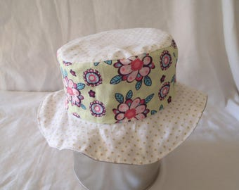 Hat - Reversible bucket Hat - 3-6 months (43 cm in diameter)