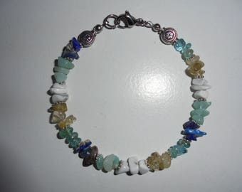 Weight loss in natural stones bracelet