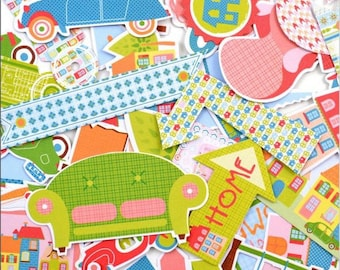 Embellishments - Die cut - home - 47 shapes paper - Toga - new