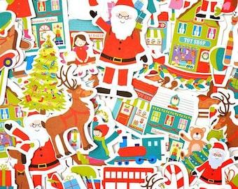 Embellishments - Die cut Toga Christmas Toys - 51 pcs - Toga - new