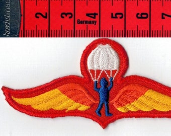 Fusible paratroopers badge embroidered or sew on Patch Applique