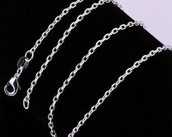 Silver mesh chain 38cm. 46cm and 50cm