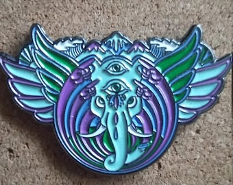 Bassnectar Elephant Camp Bisco Pin