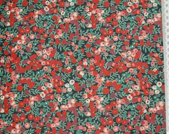 "Coupon 33.3 cm x 135cm Liberty of London fabric ""Wiltshire 01"""