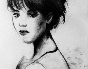 Drawing portrait style