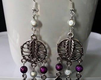 """Earrings """"Dreamcatcher"""" 8.5 cm"""