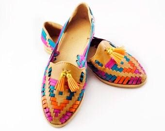 Huarache sandals sand colors