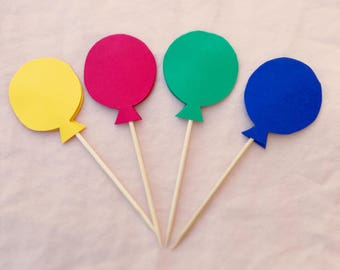 20 Balloon Cake Toppers