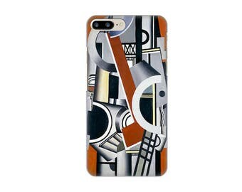 Case for iPhone 4-5-6-7, all three figures Fernand light (1881-1955)