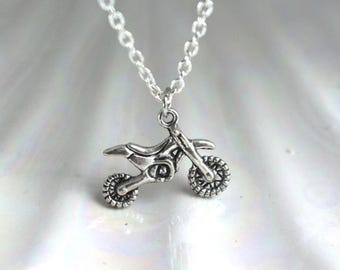 Cute Dirtbike Necklace