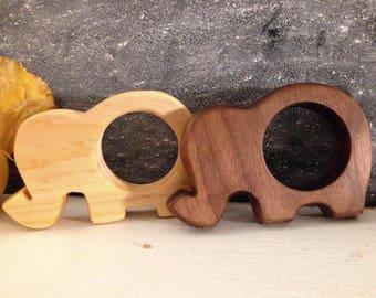 Elephant Teething Ring/Toy