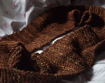 Gorgeous hand knit infinity scarf