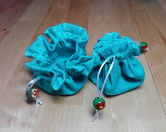 Fabric purse or secret pouch purse