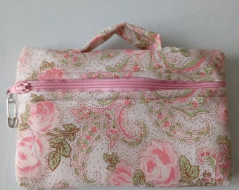 Spring cover in shades of pink