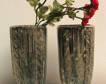 A beautiful pair of french vases