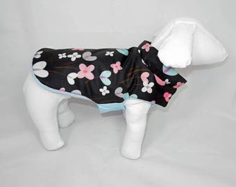 Anemone dog raincoat