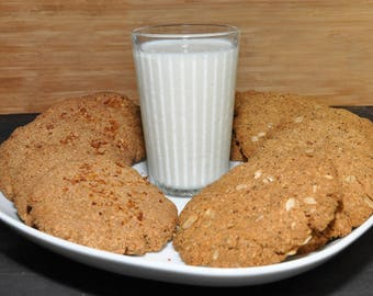 Oatmeal cookies - gluten-free, vegan, sugar-free, nut-free (free pick-up on store)