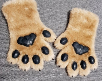 Fursuit paws gloves handpaws pre-made