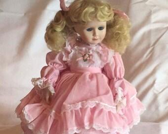 """Ashton Drake """"Megan"""" Porcelain Doll"""