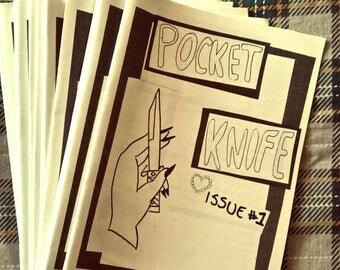 Pocket Knife zine ISSUE #1