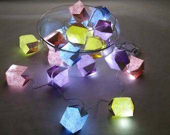 Origami string light