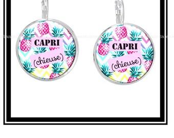 """Earrings """"Capri (bitch)"""""""