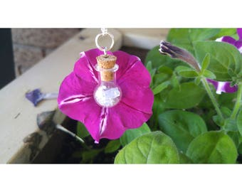 Amethsyt Bottle Necklace