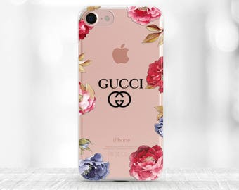 Gucci iPhone Case Gucci iPhone 7 Gucci iPhone 6s Case Fashion iPhone case iPhone 7 Plus case Gucci iPhone 8 Plus Floral Gucci iPhone 8 case