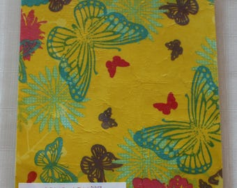 sheet Moss decorated large Butterfly